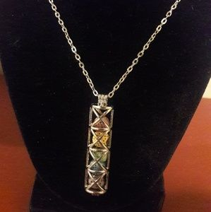 Jewelry - Handmade Essential Oil Long Cage Necklace